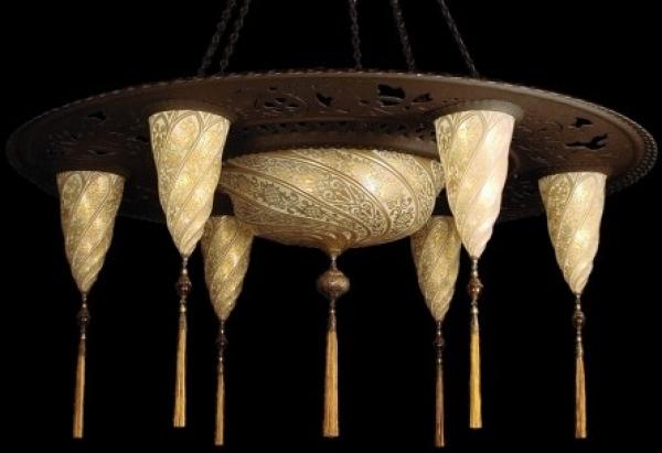 Lámpara Sultan Escudo Sarraceno de Fortuny