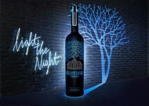 Belvedere Vodka Midnight Saber