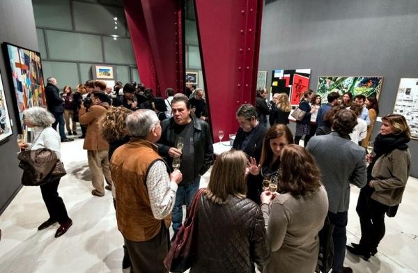 Inaugurada la exposición de la 32ª edición del Premio BMW de Pintura