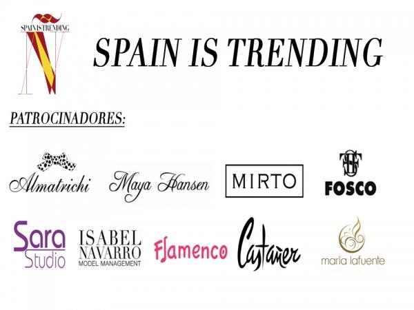Spain is trending, desfile a favor de la marca España