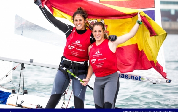 Silvia Mas / Patricia Cantero ha conseguido el bronce en 470 femenino