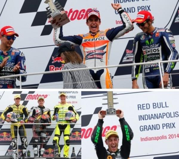 Gran Premio de Motociclismo de Indianapolis: Márquez 10 de 10.....donde está el límite?