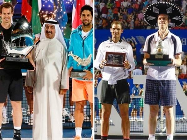 Nadal, Verdasco, López y Ramos pierden sus finales ATP World Tour