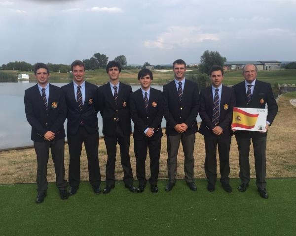 España suma su cuarta medalla de oro en el Europeo Absoluto Masculino por Equipos en Golf