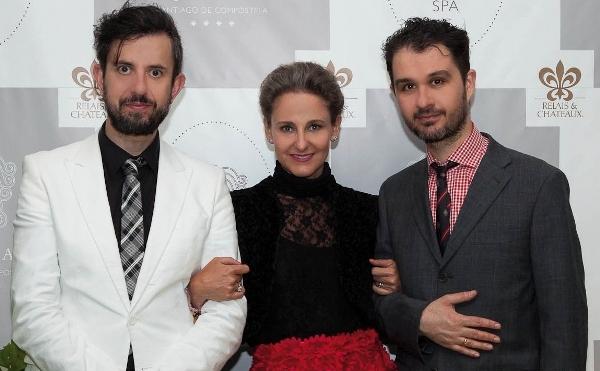 Alex Regueiro, Alfredo Iglesias y S.A.R. la princesa de Bulgaria, Carla Royo-Villanova