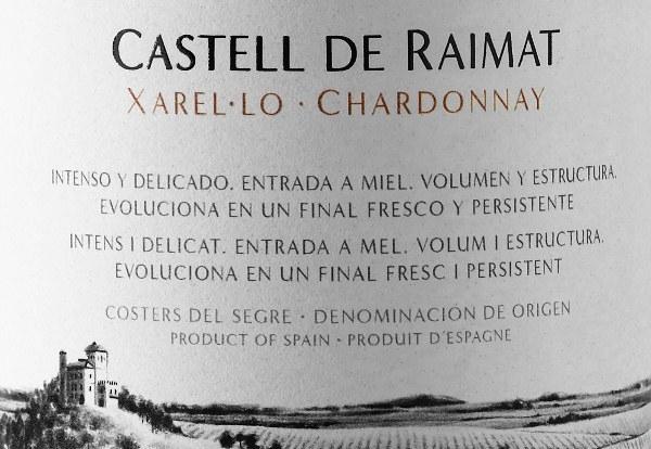 Castell de Raimat Xarel.lo Chardonnay 2013