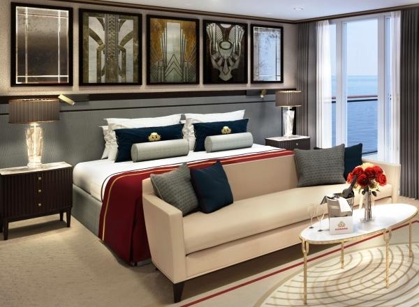 Nuevas suites del Transatlántico Queen Mary II