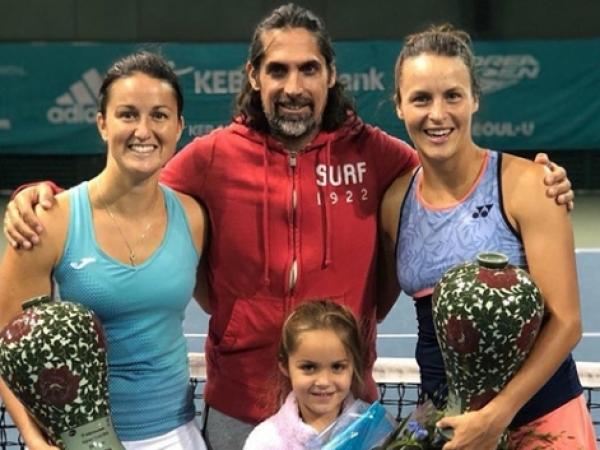 Lara Arruabarrena gana el título de dobles femenino WTA en Seúl