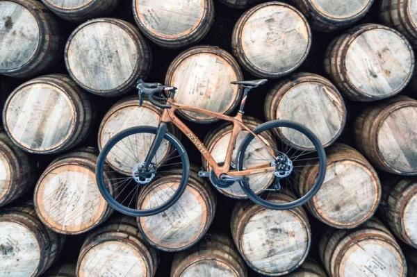 Bicicleta de madera Renovo Glenmorangie Original