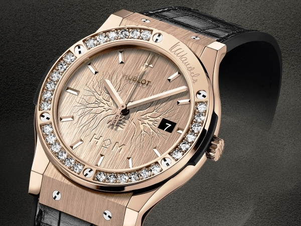 Hublot Classic Fusion Diamonds House of Mandela