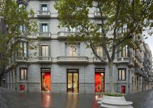 Boutique Louis Vuitton en el Paseo de Gracia de Barcelona