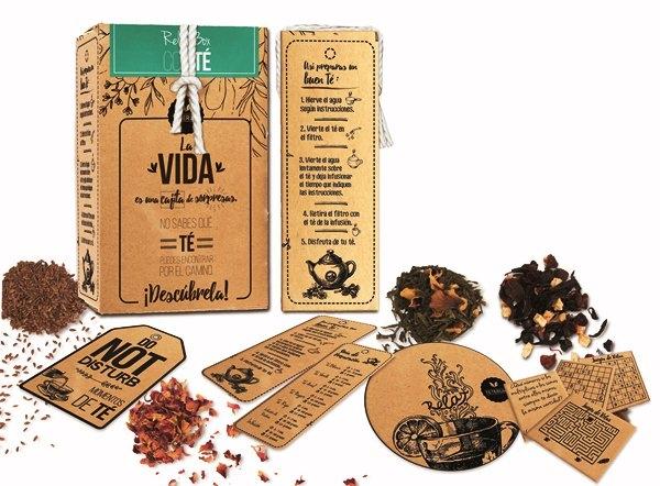 Teterum Relax Box, una caja de sorpresas con mucho más que té