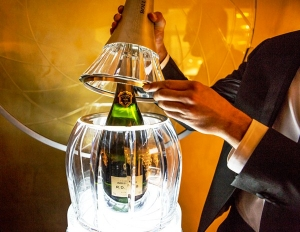 Champagne  BOLLINGER CRYSTAL SET 007