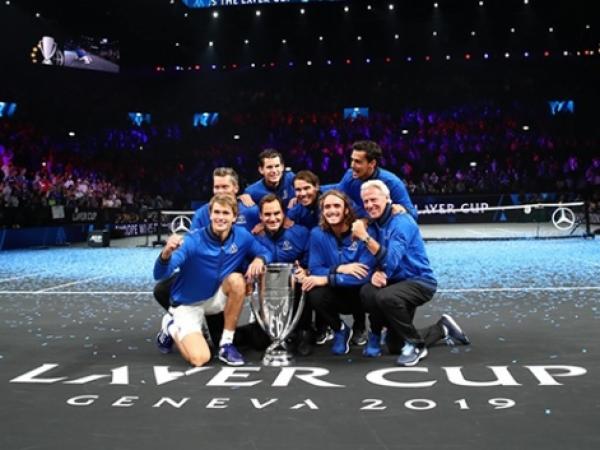 Nadal al frente del equipo europeo conquista la Laver Cup