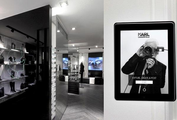 Fotomatón en la Concept Store Karl Lagerfeld