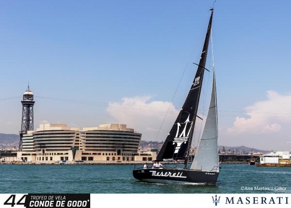 Presentación del barco DK46 cruiser-racer de Maserati