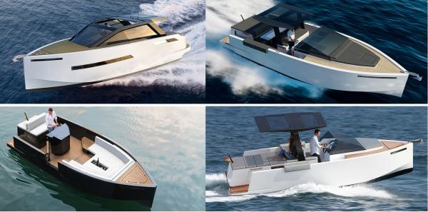 De Antonio Yachts presenta los nuevos modelos D23 Tender, D23 Cruiser, D33 y D43