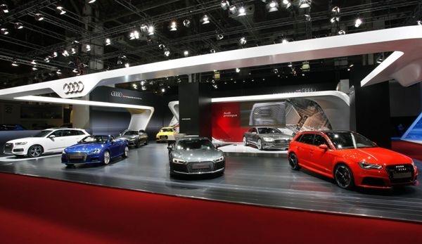 Audi presenta en el Salón del Automovil de Barcelona su lado mas deportivo