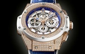 Hublot King Power Miami 305, versión de sólo 10 ejemplares con 374 diamantes blancos engastados que suman un total de 3,34 quilates aprox.
