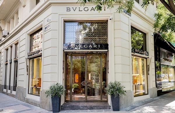 Bulgari inaugura su nueva joyería en Madrid