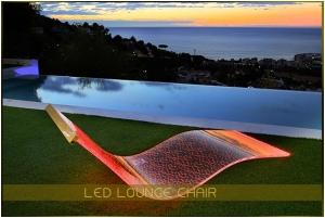 Muebles con luz led