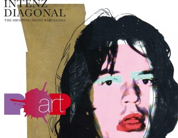 INTENZ DIAGONAL by TSNB, la noche POP-U-ART del comercio barcelones