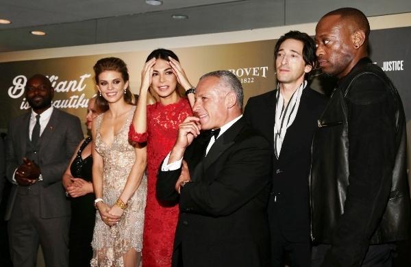 Jimmy Jean-Louis, Patricia Arquette, AnnaLynne McCord, Moran Atias, Pascal Raffy, Adrien Brody y Omar Epps