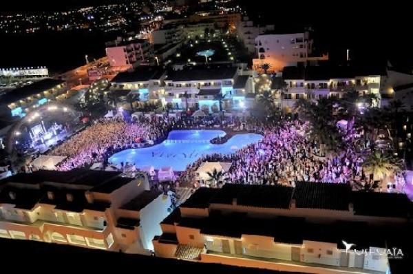 Vista aérea del Ushuaïa Ibiza Beach Hotel