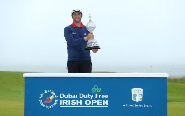 Jon Rahm conquista el Irish Open Golf con una auténtica exhibición