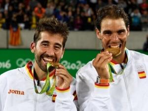 Marc López y Rafael Nadal ganan la medalla de oro de dobles en los JJOO de Río 2016