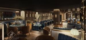 Render del nuevo espacio que abrirá Gatsby Barcelona