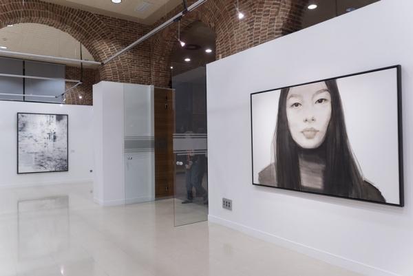 Inauguración de la exposición de la 31ª edición del Premio BMW de Pintura