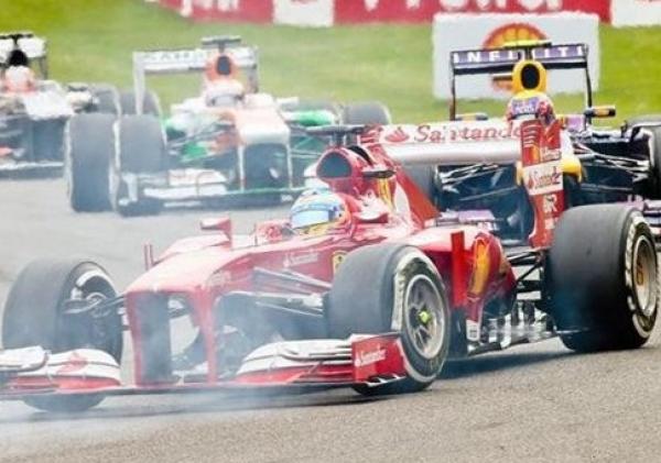 Gran Premio de Bélgica - Un magistral Alonso finaliza segundo tras Vettel en el circuito de Spa-Francorchamps