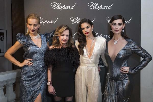 Precious Couture de Chopard: Petra Nemcova, Caroline Scheufele, Sara Sampaio and Catrinel Marlon