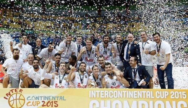 El Real Madrid se proclama campeón de la Copa Intercontinental de baloncesto