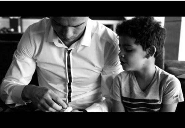 Sesión de fotos TAG Heuer & Cristiano Ronaldo