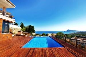Villa de lujo en Altea con vista al mar