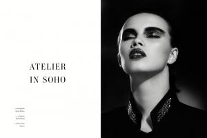 Atelier in Soho, video editorial de moda
