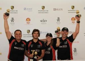 Los Dragones ganadores en Sotogrande del Torneo de Primavera de polo