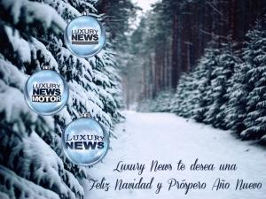 LUXURY NEWS OS DESEA UNA FELIZ NAVIDAD. FELICES FIESTAS !!!