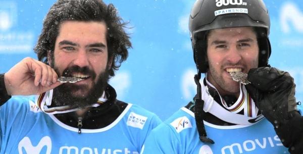 Regino Hernández y Lucas Eguibar