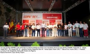 Clasificaciones finales de la 32ª Copa del Rey MAPFRE disputada en la bahía de Mallorca