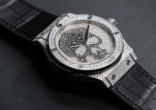 Reloj Hublot Classic Fusion Skull Pavé