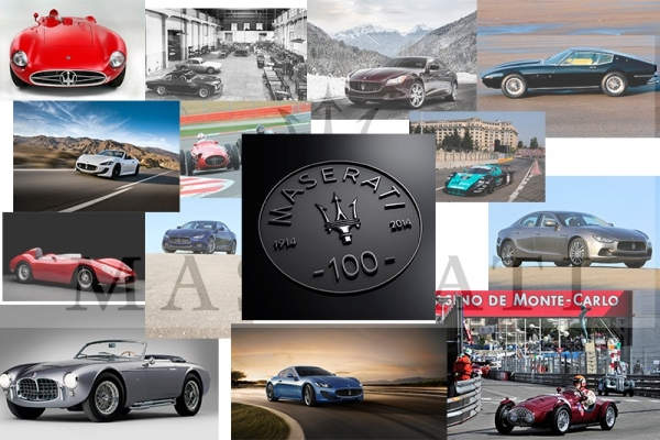 Maserati celebra 100 años