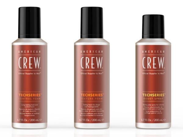 American Crew Tech Series, los nuevos productos para un styling masculino perfecto