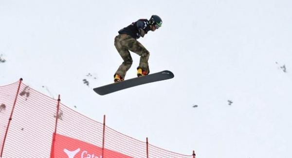 Lucas Eguibar conquista la Copa de Europa Snowboard Cross FIS de Pitztal (Austria)
