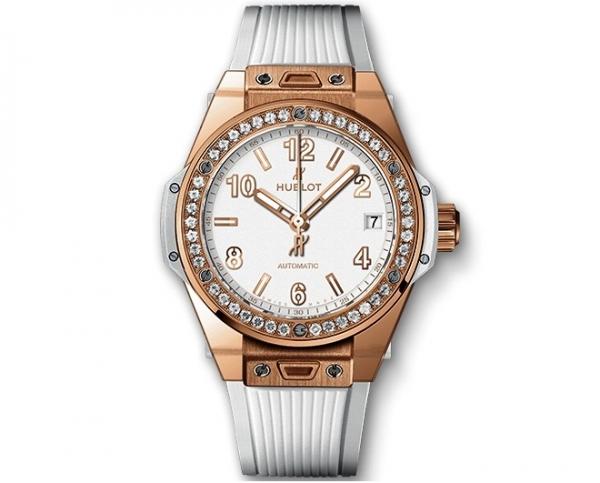Hublot One Click King Gold White Diamonds