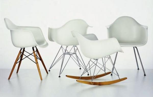 Diferentes modelos de sillas Eames
