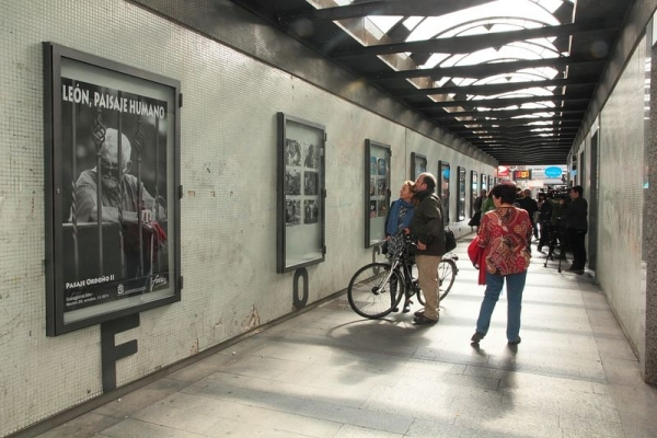 """Exposición """"León Paisaje urbano"""""""