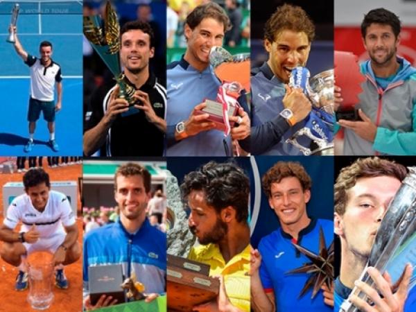 El tenis español cierra el año como el país con más títulos ATP y es el primero que sobrepasa los 200 en el siglo XXI